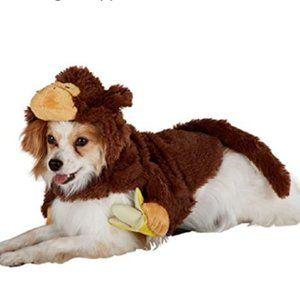 Top Paw dog cat pet monkey with banana costume nwo